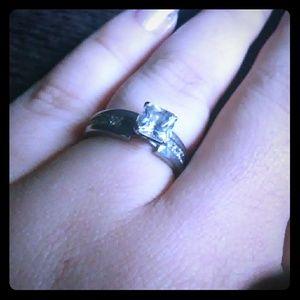 Size 6 cz engagement ring